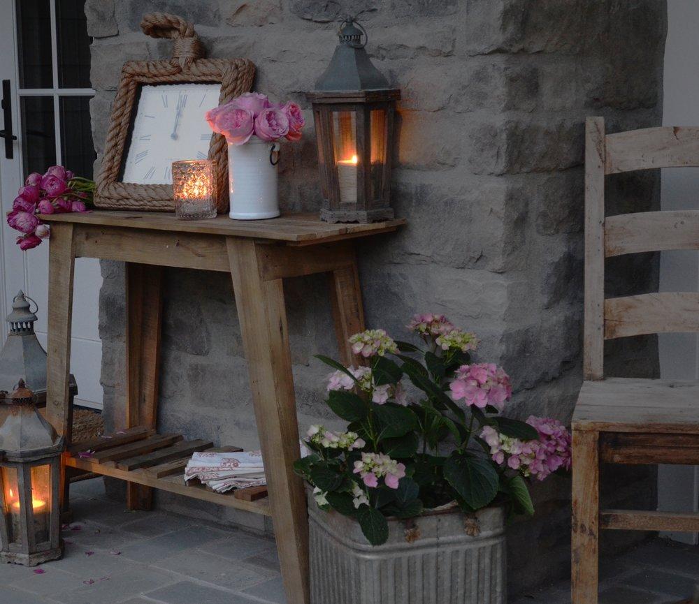 Candlelit Patio