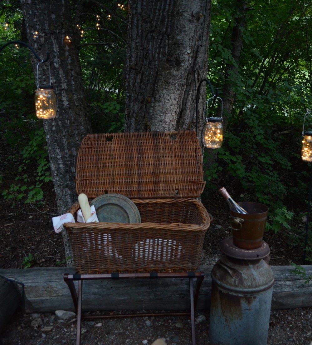 Solar Mason Jar Lights on Hooks