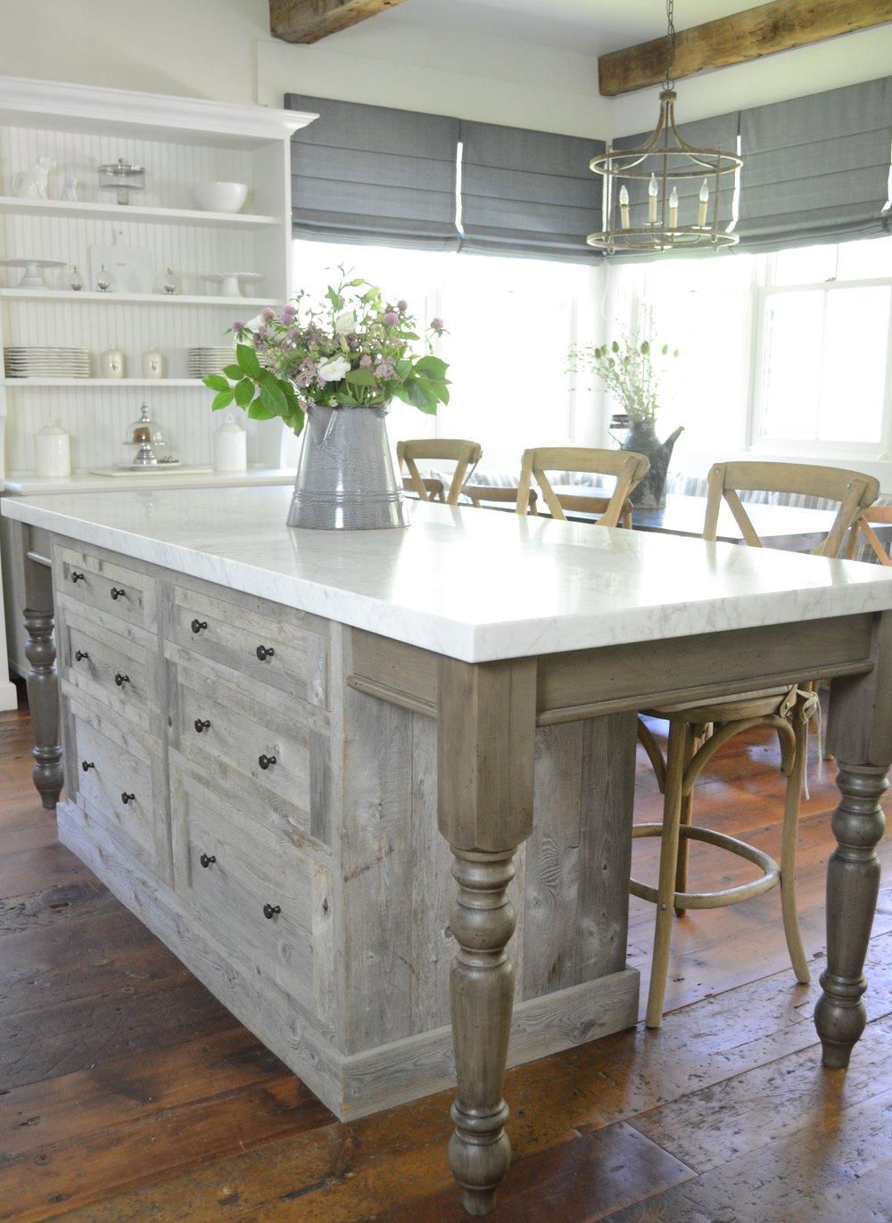 Farmhouse Kitchen Reclaimed Wood
