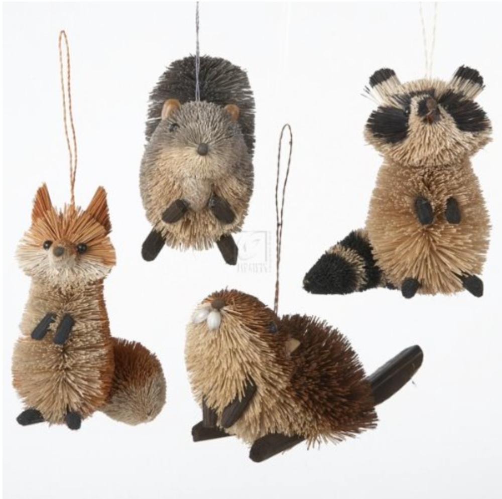 Woodland Animal Ornaments
