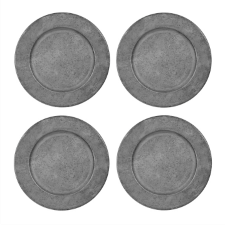 Tin Charger Plates