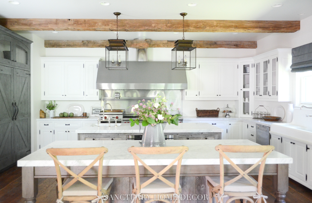 Before After Farmhouse Kitchen Remodel SANCTUARY HOME Magnificent Before And After Kitchen Remodels Decoration