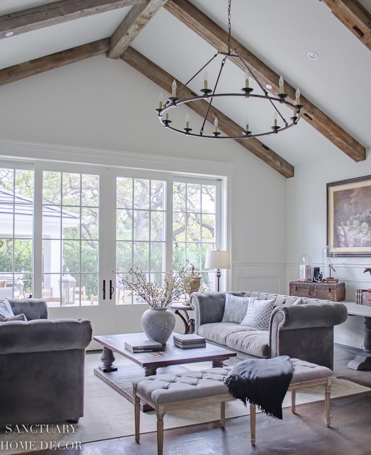 Rustic-Wood-Beams-Living-Room