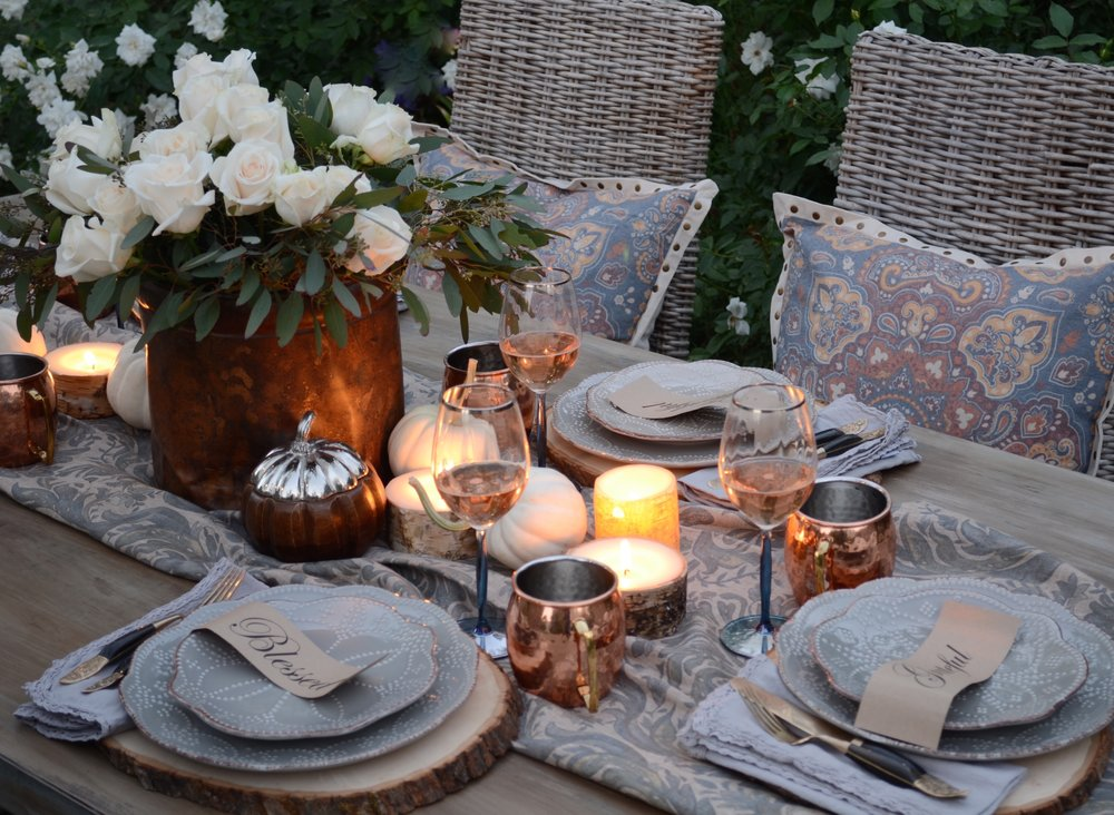 Fall Tablescape