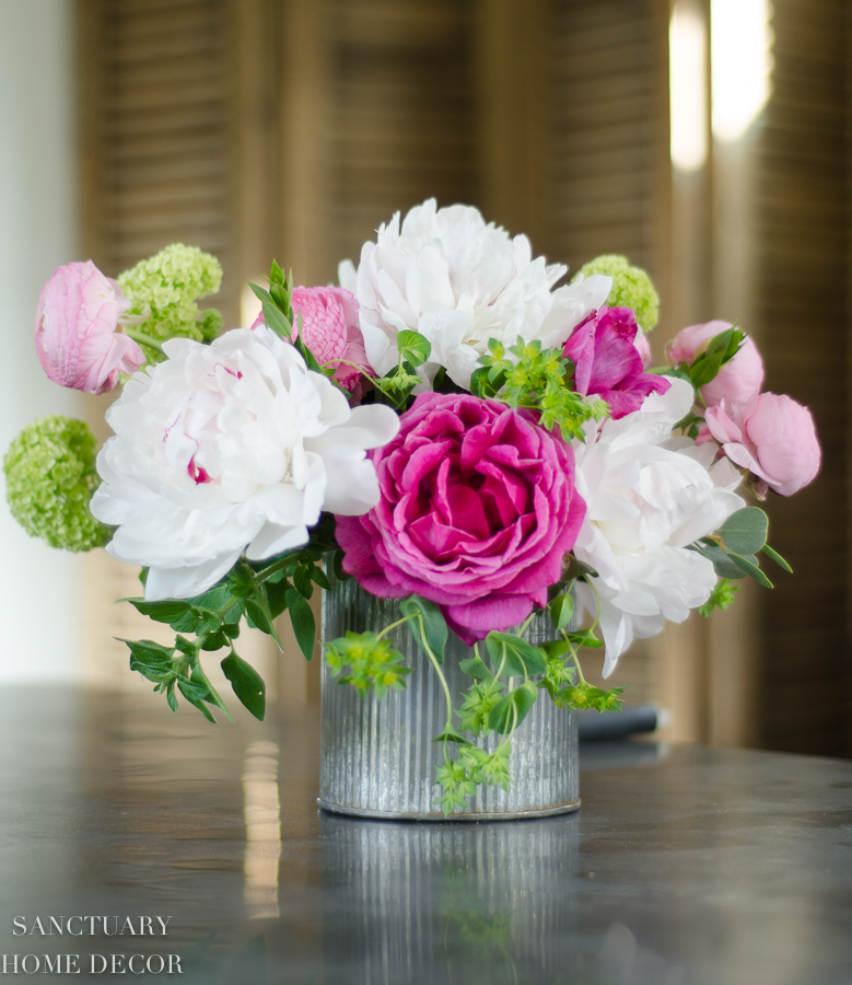 How to Make a Spring flower Arrangement