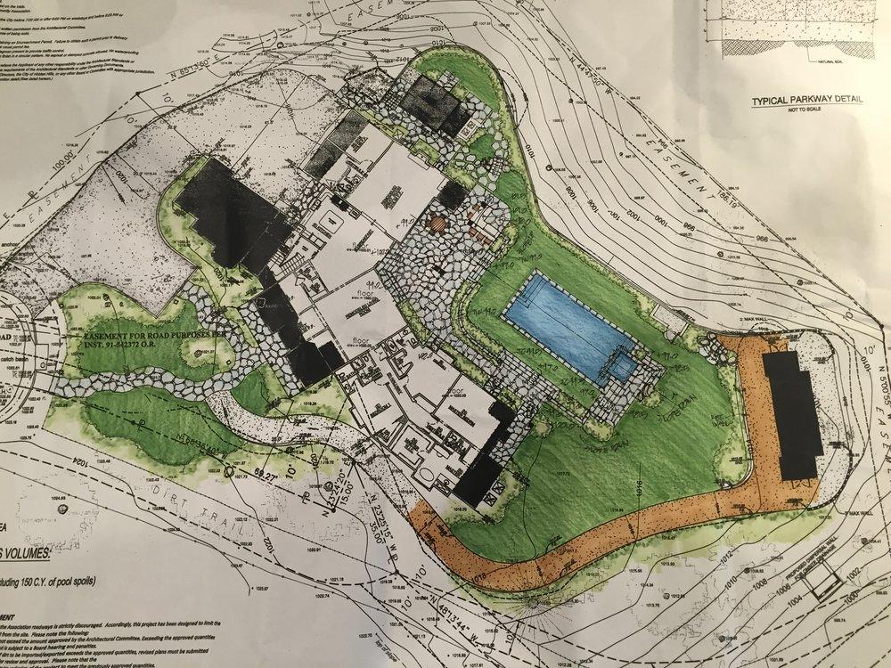 English Garden Landscape Plan