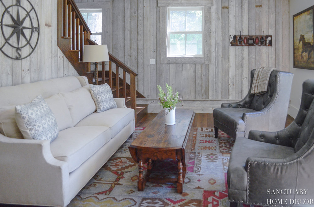 Reclaimed Barn Wood-Accent-Wall