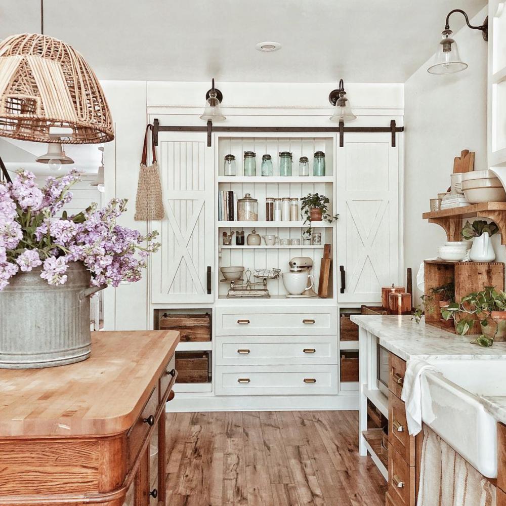 15 Most Beautiful Kitchens on Pinterest-White Tail Farmhouse