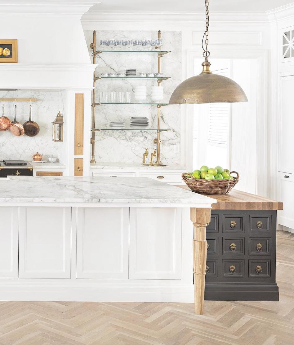 15 Most Beautiful Kitchens on Pinterest -@thefoxgroup
