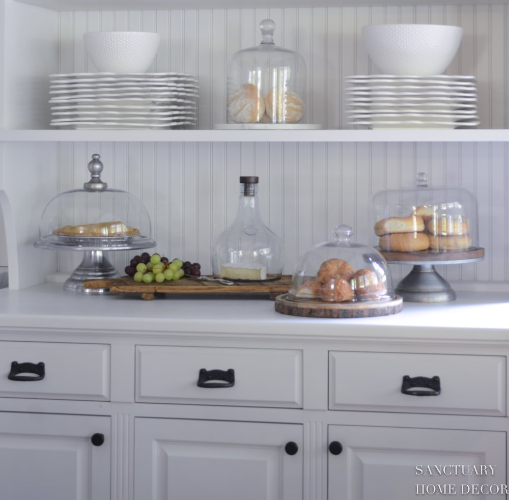 Cake Domes-White Kitchen-Cabinet Hardware