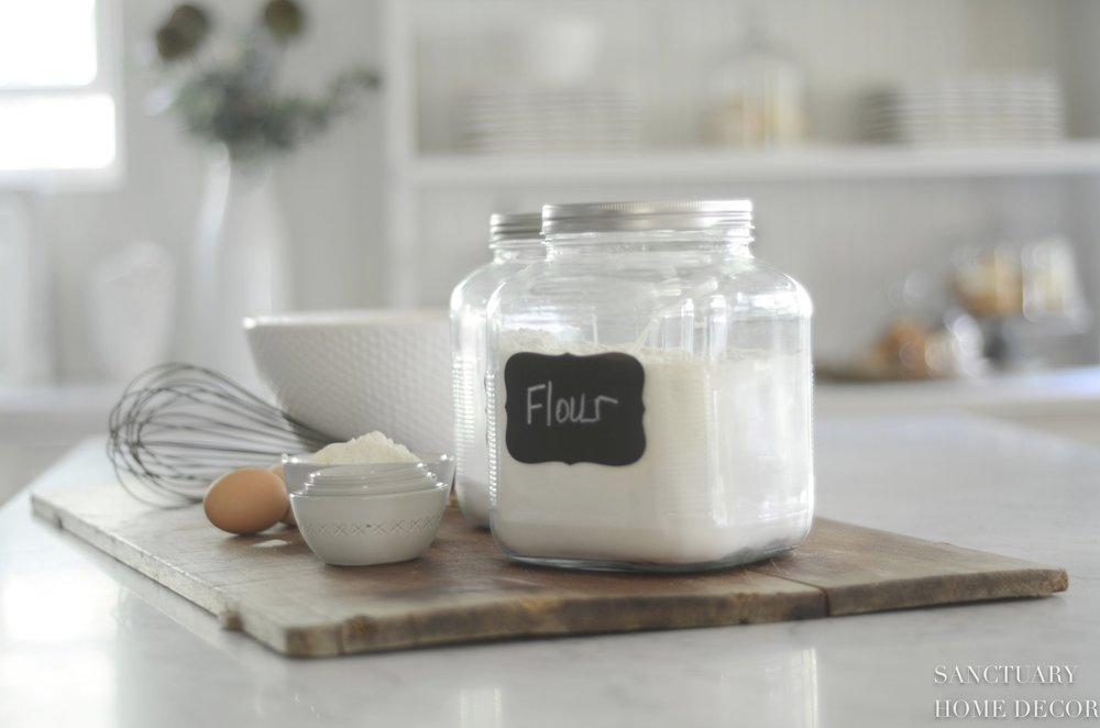 Kitchen Essentials-Chalkboard Labels