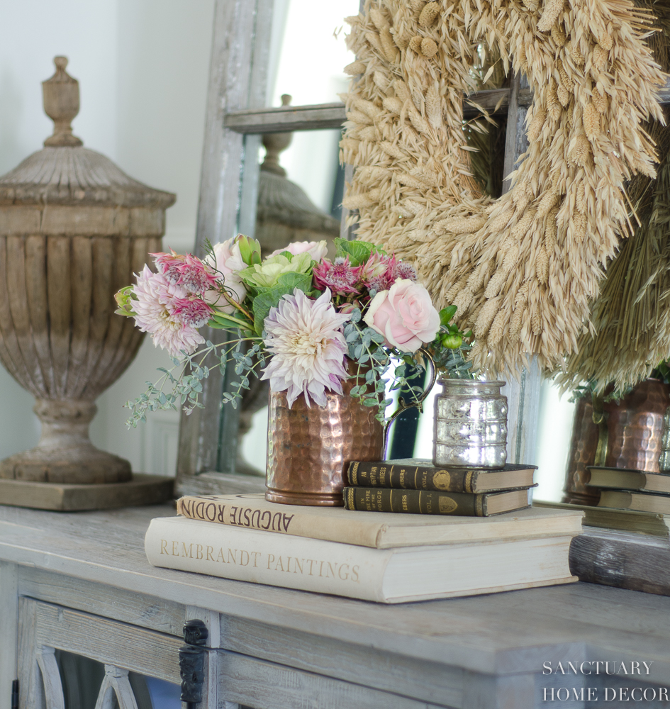 5 Minute Fall Decorating - Easy Vignettes