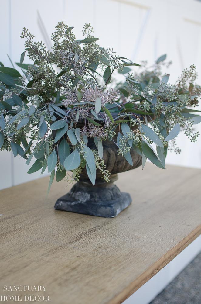 DIY Rose and Eucalyptus Centerpiece-8.jpg