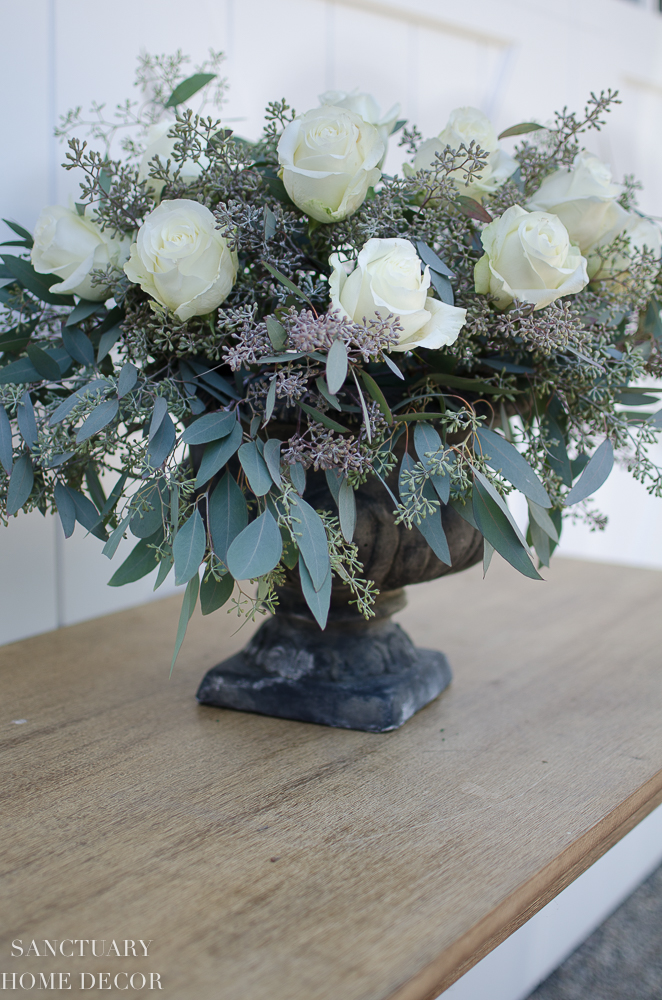 DIY Rose and Eucalyptus Centerpiece-13.jpg