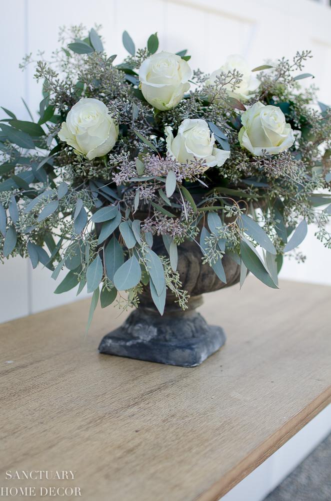 DIY Rose and Eucalyptus Centerpiece-12.jpg
