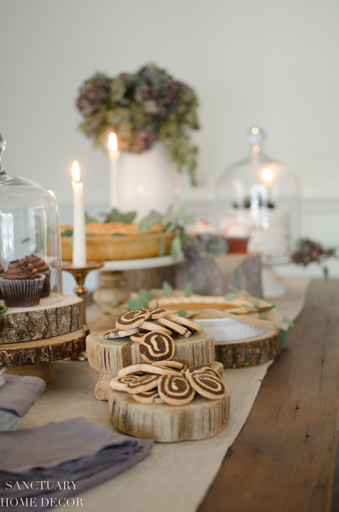 How To Create a Beautiful Holiday Dessert Table-Easy Tips and Tricks for setting a Thanksgiving Dessert Buffet