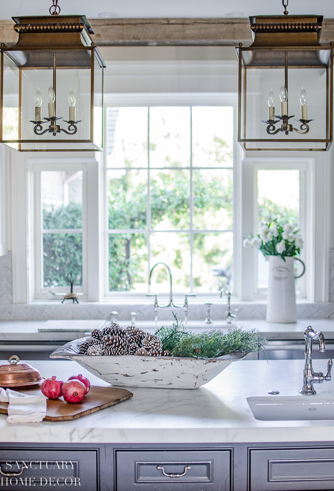 Christmas Decorating in the Kitchen — SANCTUARY HOME