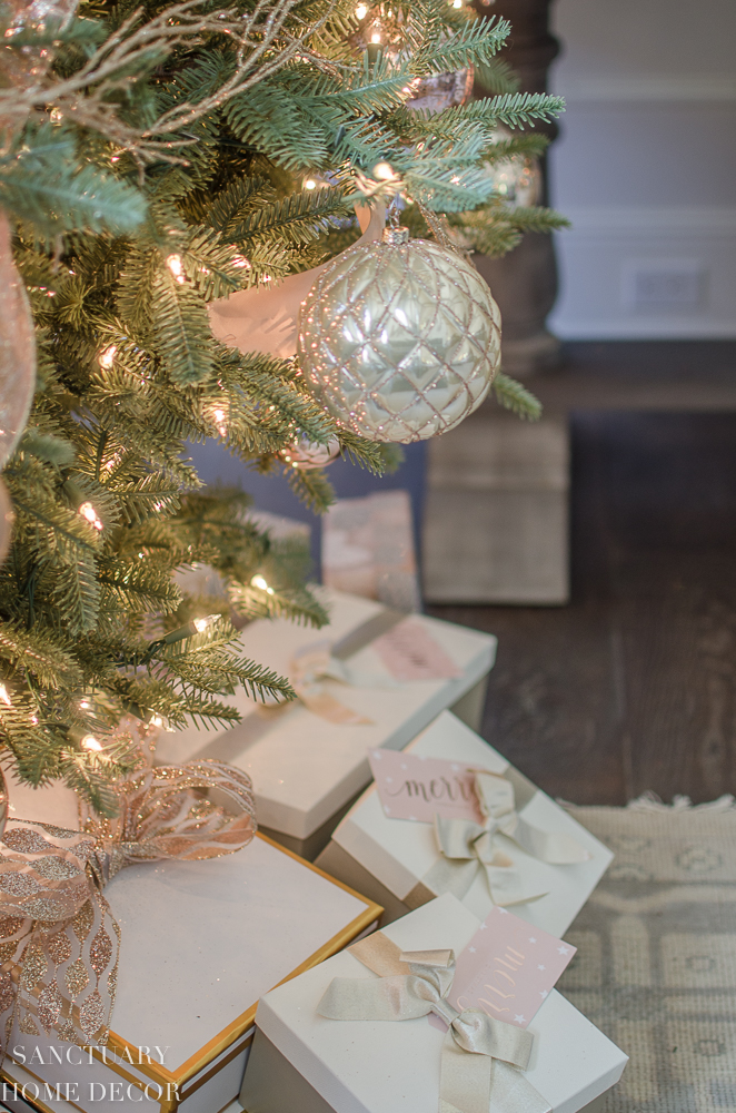 Christmas Decorating Ideas Blush, Rose Gold and Copper