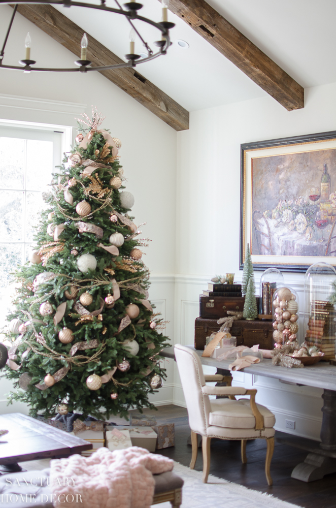 Christmas Decorating Ideas-Blush-Rose Gold-Copper