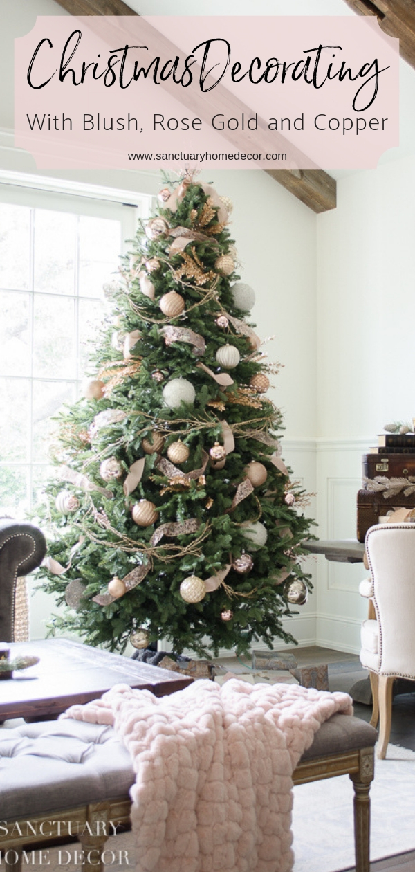 Christmas Tree Decorated with Blush, Rose Gold and Copper.jpg