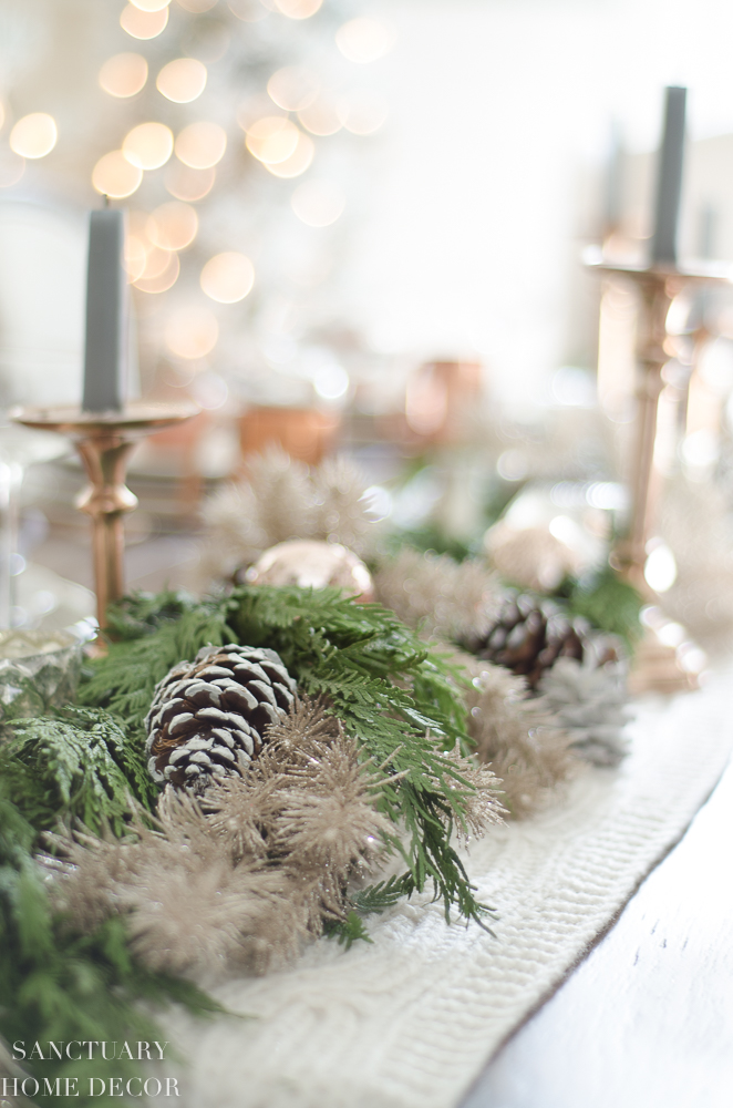 Christmas Table Setting with Garland Centerpiece & Copper Accents-15.jpg