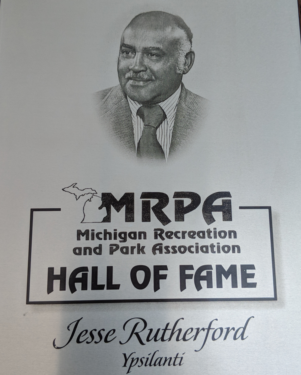 Jesse A. Rutherford, namesake for Rutherford Pool
