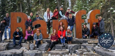 Banff, Canada 2017: Wildlife Tour, Banff Hot Springs, Johnston Canyon Hiking, Brewery Tour, and Lake Louise.