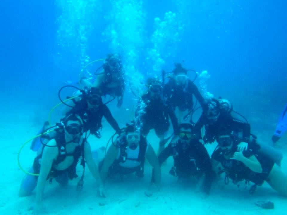 Underwater Scuba Pyramid!