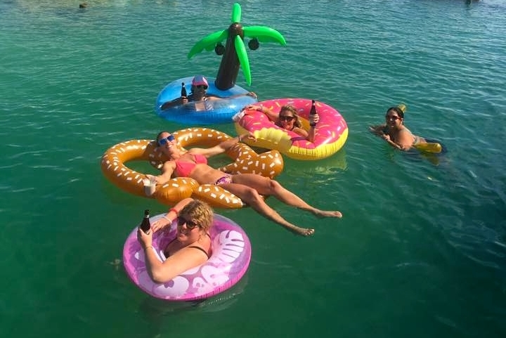 FLOATY FEST in Belize