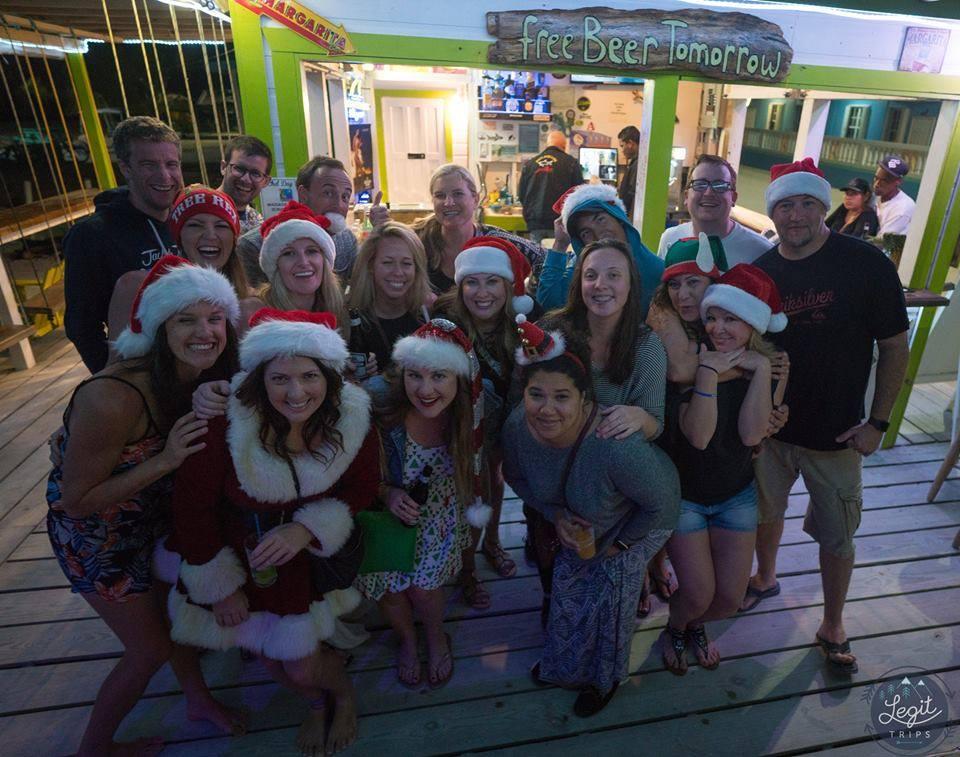 Belize Christmas Bar Crawl