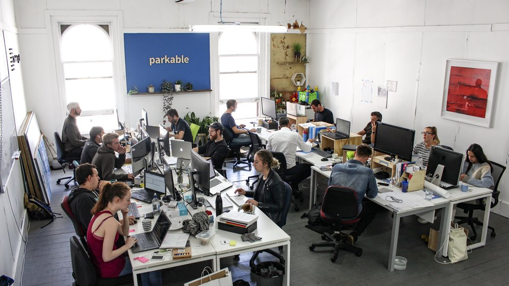 The old Parkable office (2016-2018)