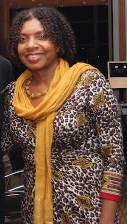 Eurica Huggins Axum - Co-Founder and Director of International Affairss