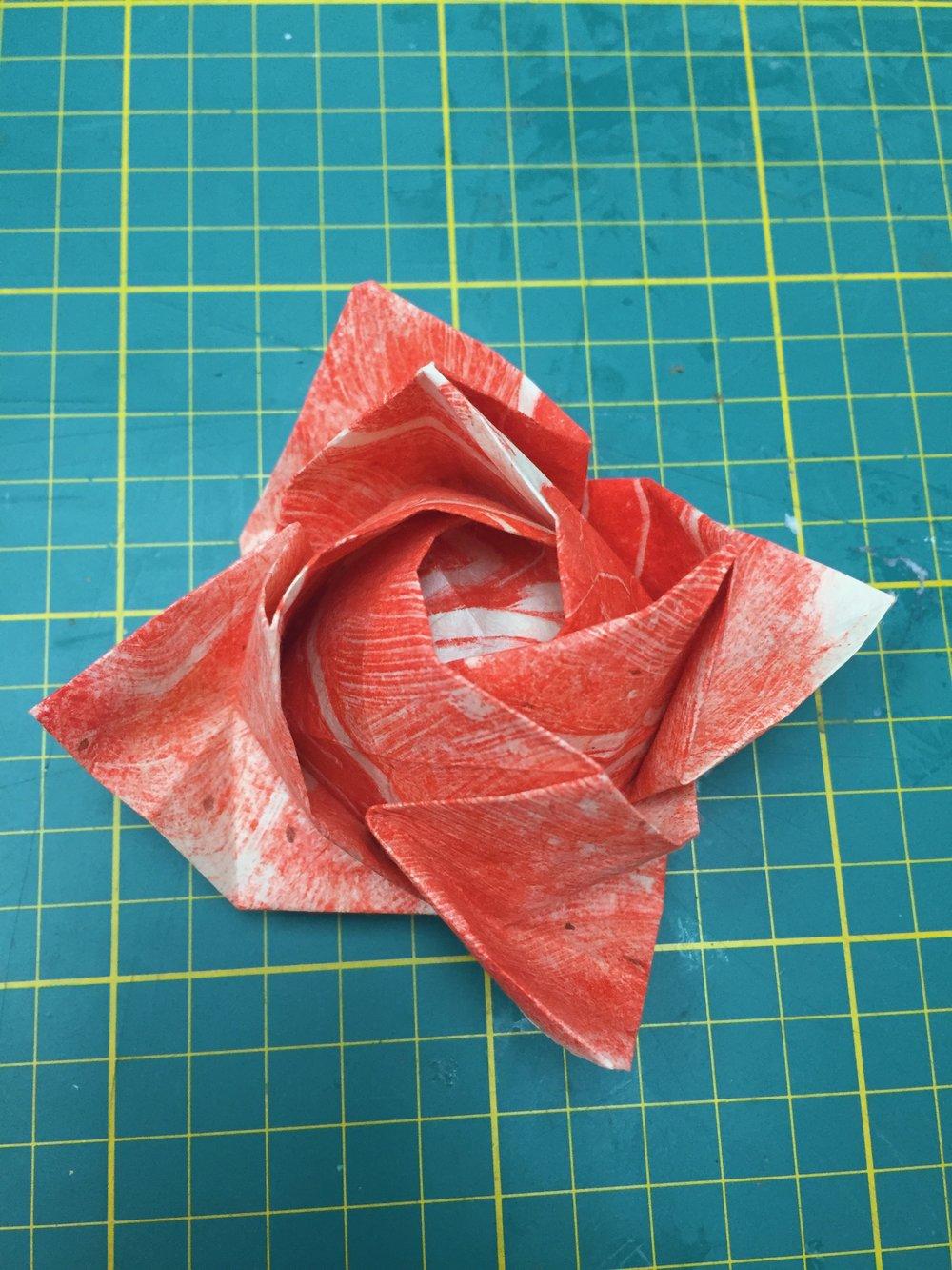 Kawasaki rose pattern