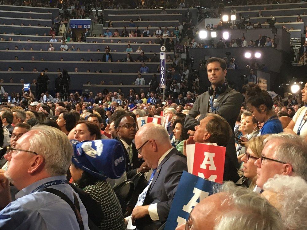 Democratic National Convention, Philadelphia, July 2016. Photo: Jennifer Hsu