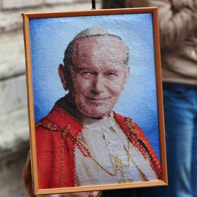 Happy Feast Day, Saint John Paul II! . . . #feastday #stjohnpaulii #catholic #faith #hope #love