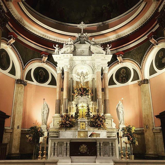 There nothing like Catholic Architecture that glorify God! . . . #catholic #art #inspiring #saintritaofcascia #philadelphia #architecture