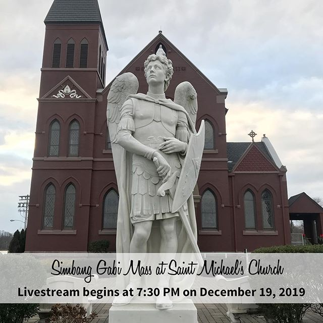 True Goodness Films is honor to Livestream the Simbang Gabi Mass at Saint Michael's Church on December 19, 2018 at 7:30 PM. Link is in the bio to watch the Mass!
