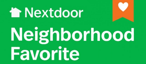 Named a Neighborhood Favorite by    NextDoor    in 2018