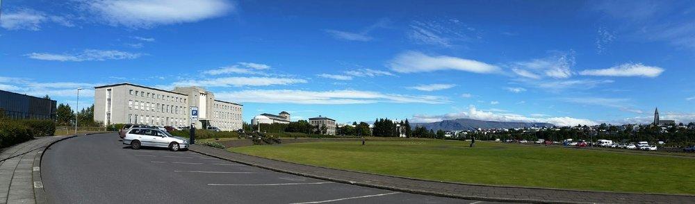 Main building -University of Iceland