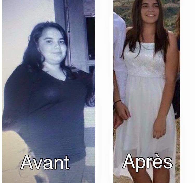 Grâce à toi, à tes conseils, à ta gentilesse j'ai perdu 24,5 kg en 8 mois. Merci pour tout  Christiane OLIVEIRA