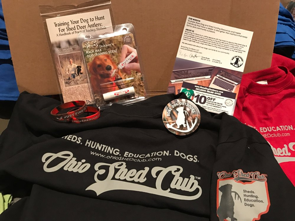 JOIN NOW & Get this Ohio S.H.E.D. Club Member Box >