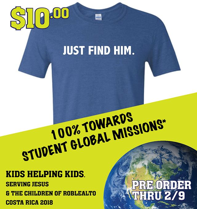 PRE-ORDER NOW!  100% of Proceeds go to the Student Missions Effort & the Children of Roblealto!   Link in Bio           Get 25% OFF Bone Dog Training & Outfitter Merchandise with purchase of Shirt! www.bonedogoutdoors.com    So many amazing Christian Businesses - let's get behind this effort!