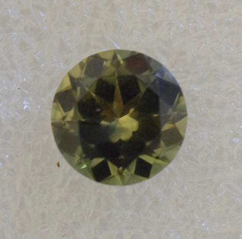 Parti colour sapphire