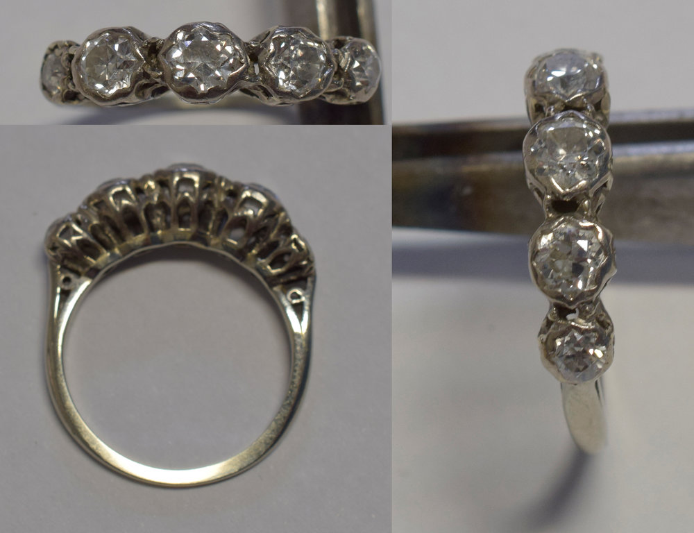 The ring before restoration.
