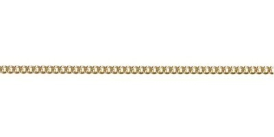 Chain width = 1.80mm Approx. weight 9ct yellow gold for 50cm = 4.61g Approx. weight 9ct yellow gold for 45cm = 5.4g  Available in the following: 9ct yellow : 40, 45, 50, 55, 60, 70cm 18ct yellow: 45cm