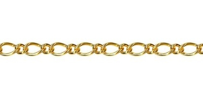 Chain width = 3.40mm  Approx. weight 9ct yellow gold for 50cm = 9.50g  Available in the following:  9ct yellow : 40, 45, 50, 55, 60, 70cm