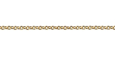Chain width = 2.1mm  Approx. weight 9ct yellow gold for 50cm = 4.26g  Available in the following:  9ct yellow : 45, 50cm