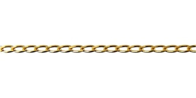 Chain width = 2.2mm  Approx. weight 9ct yellow gold for 50cm = 4.22g  Available in the following:  9ct yellow : 45, 50, 55, 60cm