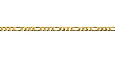 Chain width = 2.1mm  Approx. weight 9ct yellow gold for 50cm = 4.38g  Available in the following:  9ct white: 45, 50, 55, 60cm  9ct yellow : 40, 45, 50, 55, 60, 70cm