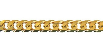 Chain width = 6.2mm  Approx. weight 9ct yellow gold for 50cm = 43.35g   Available in the following:  9ct white: 50, 55, 60cm  9ct yellow : 45, 50, 55, 60cm